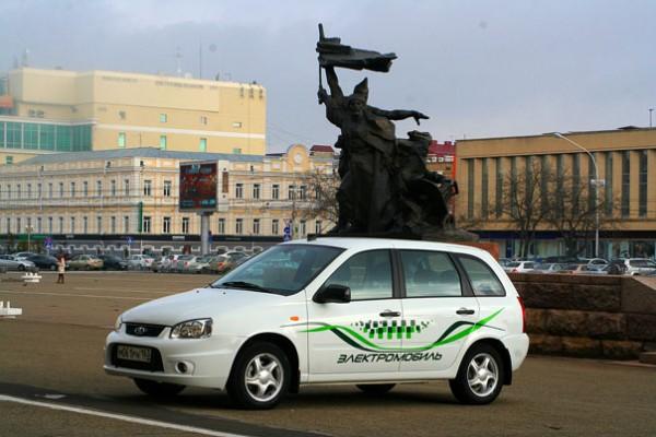 Первые пять электрокаров EL LADA направились в Ставрополье
